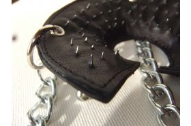 Spiked Parachute ball stretcher (Lockable)